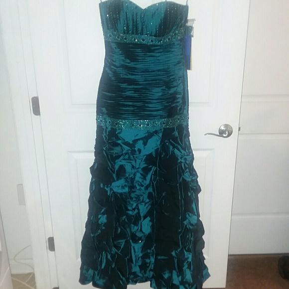 Royal Queen Dresses Dark Teal Prom Dress Poshmark